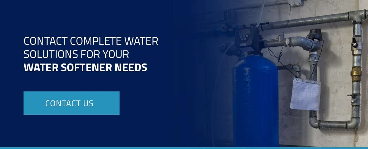 Contact Complete Water Solutions for Your Water Softener Needs
