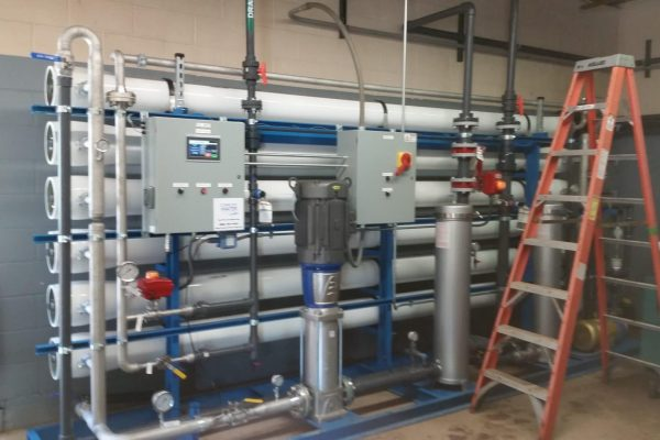 100 gpm reverse osmosis system, complete water solutions, turnkey ro system installation