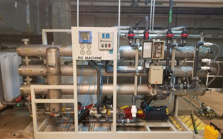 osmonics e8-57k-dlx, lakewood controller, allen bradley micrologix 1000, complete water solutions