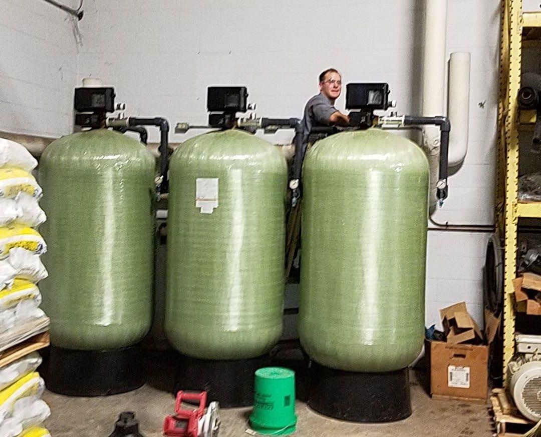 industrial water softener replacement, complete water solutions, complete water solutions water softener upgrade