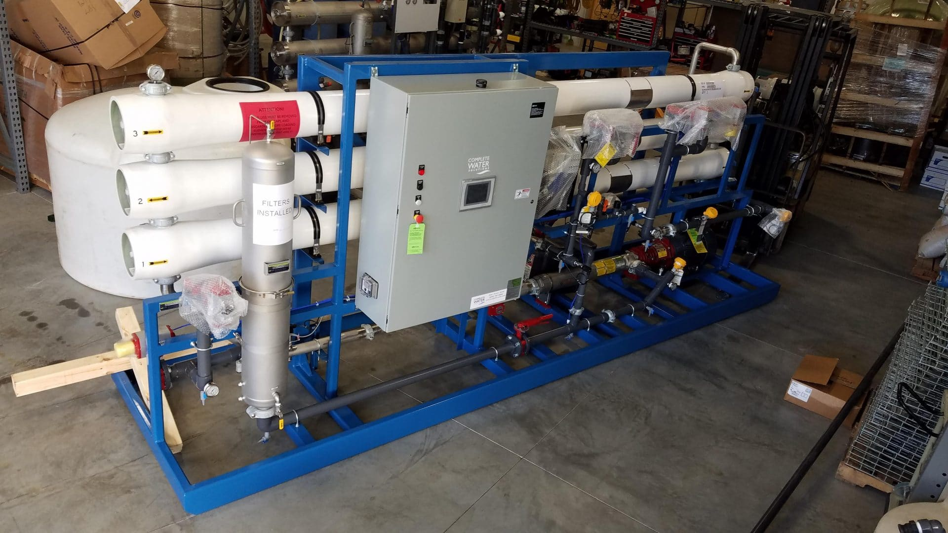 PRO 50 NA reverse osmosis, pro series reverse osmosis, complete water solutions