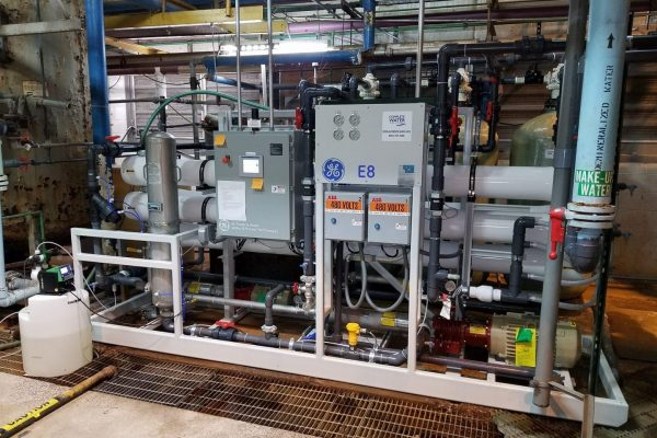 60 gpm reverse osmosis system, ro system installation, complete water solutions