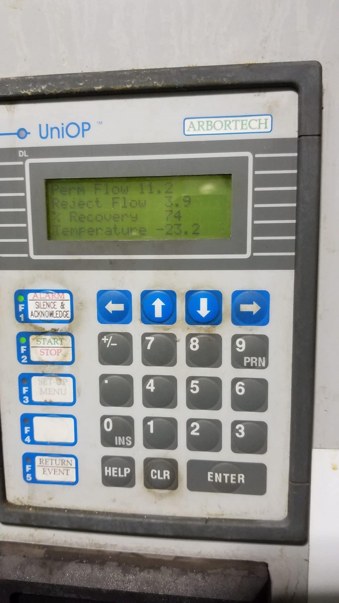 reverse osmosis controller, post ro cleaning results, complete water solutions