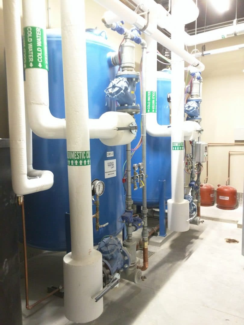 industrial water softeners, complete water solutions, commercial water softener installation