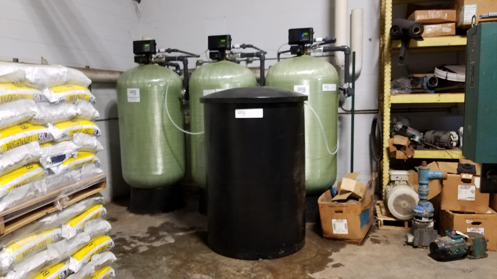 Fleck 2900 Triplex 3200NXT, industrial softener replacement, complete water solutions