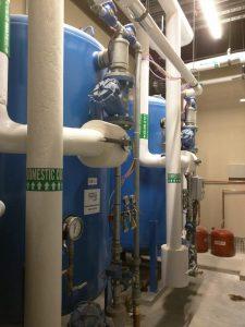 aquamatic industrial softener, industrial softener system, industrial softener system install