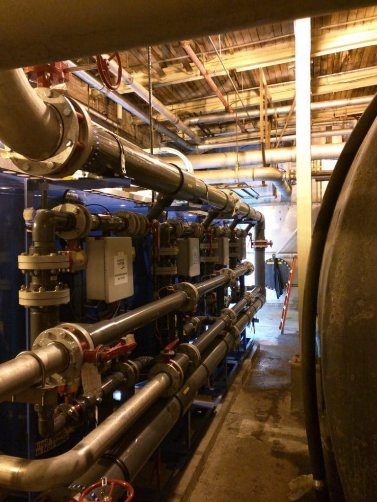 industrial sand filter install, 1000 gpm sand filter, 1000 gpm sand filter installation