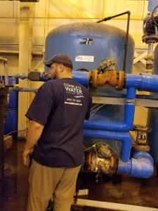 industrial softener repair, bruner d180 valve repair, industrial softener service