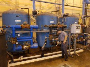 industrial softener system service, industrial softener repair, bruner d180 valve service