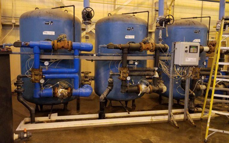 Bruner D180 Valve, industrial softener system, aquamatic blocking valves