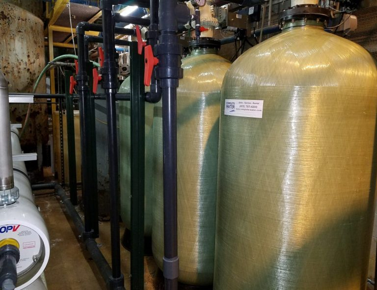 Ecowater Carbon Filter System, Triplex filter system, Complete Water Solutions