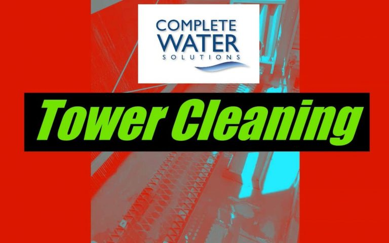 complete water solutions, cooling tower cleaning