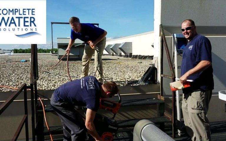 cooling tower cleaning, complete water solutions