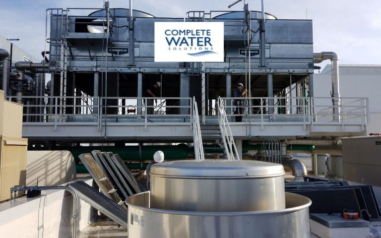 evapco cooling tower cleaning, complete water solutions