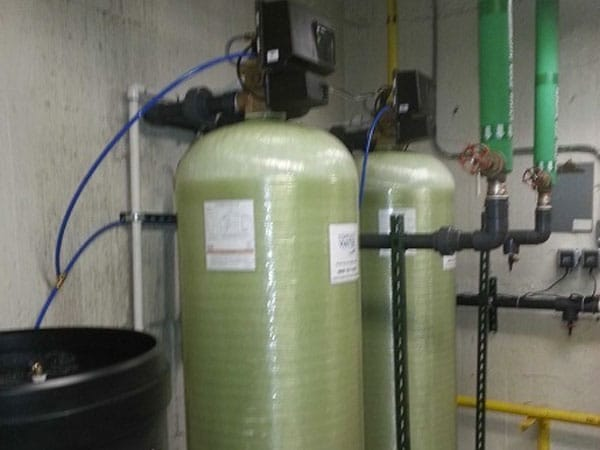 fleck 2900 softener system installed by complete water solutions