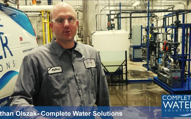 Industrial Water System Sanitization, complete water solutions