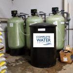 complete water solutions, magnum cv logix softener valve
