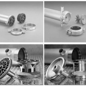 Stainless Steel Membrane Element Housings and Parts