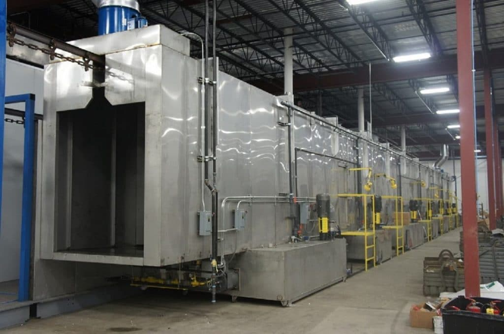 parts washing water treatment, powder coating water treatment, complete water solutions