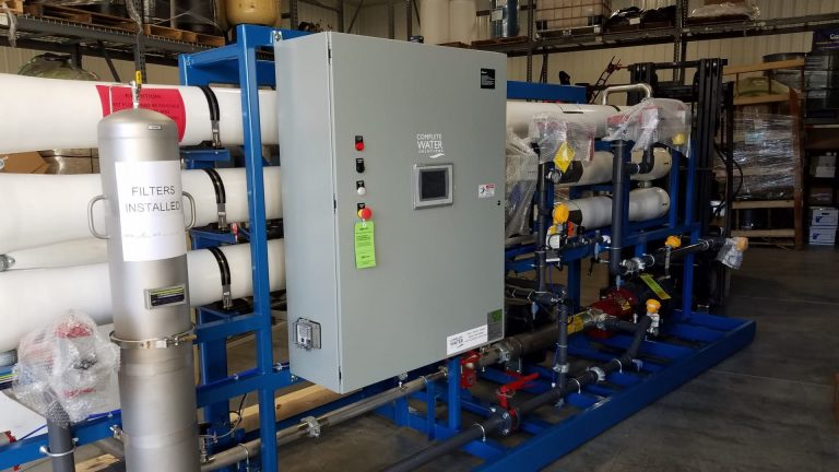 process water, complete water solutions, organics monitoring