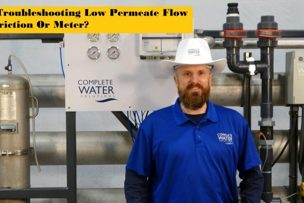 ro troubleshooting, complete water solutions
