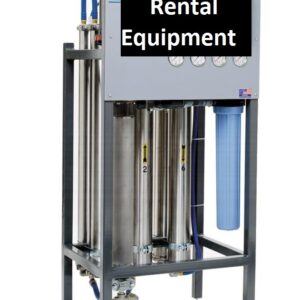 Reverse Osmosis (RO) Filtration Rental Equipment