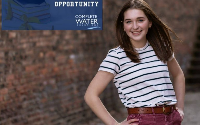 Complete Water Solutions Water Treatment Scholarship