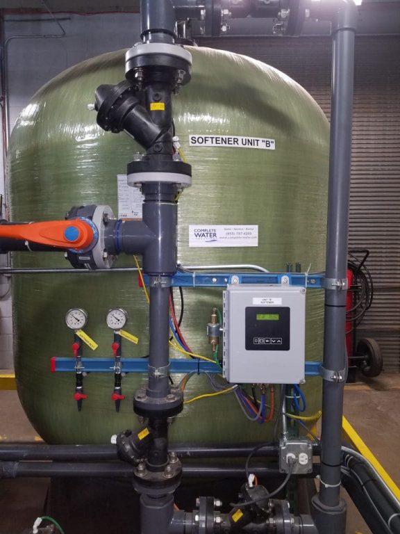 Industrial Progressive Flow Water Softener, complete water solutions