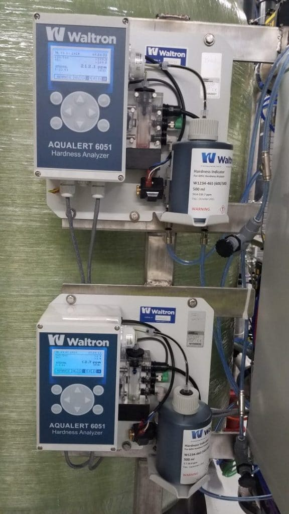 softener with plc and hardness, complete water solutions