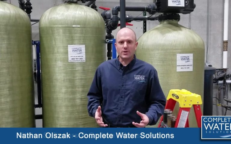 When Should I Service My Water Softener, complete water solutions