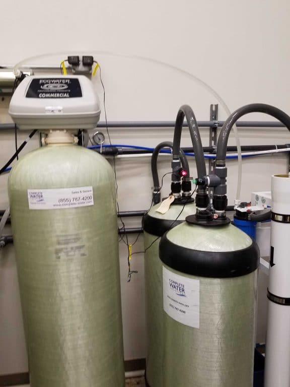 Backwashing Carbon Filter