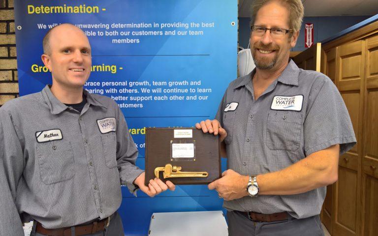 don decker award, complete water solutions, don decker award
