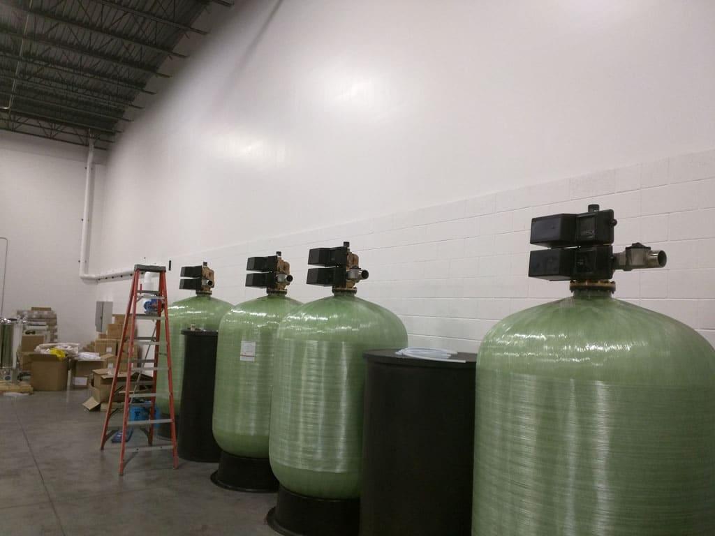 industrial water softeners, industrial water softening equipment, industrial softener cleaning