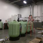 quad softener system, complete water solutions, industrial softener