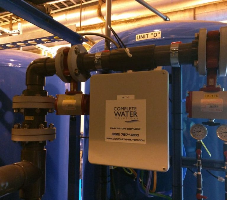industrial sand filtration system, complete water solutions, commercial sand filtration