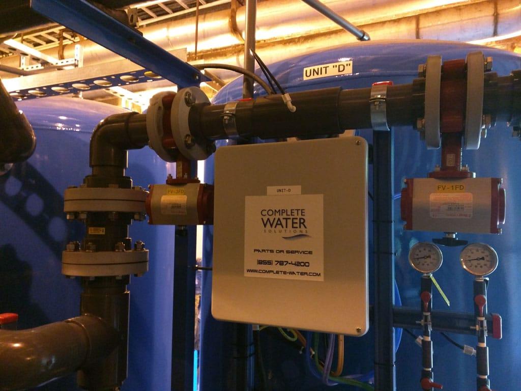 sand filtration system, industrial sand filter, industrial filtration system