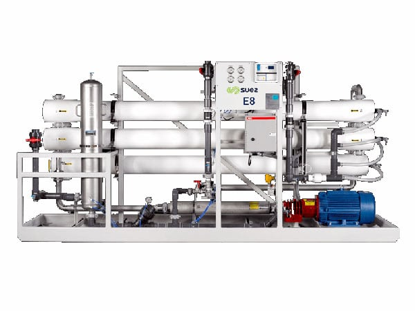 suez e8 ro system, suez ro system, complete water solutions
